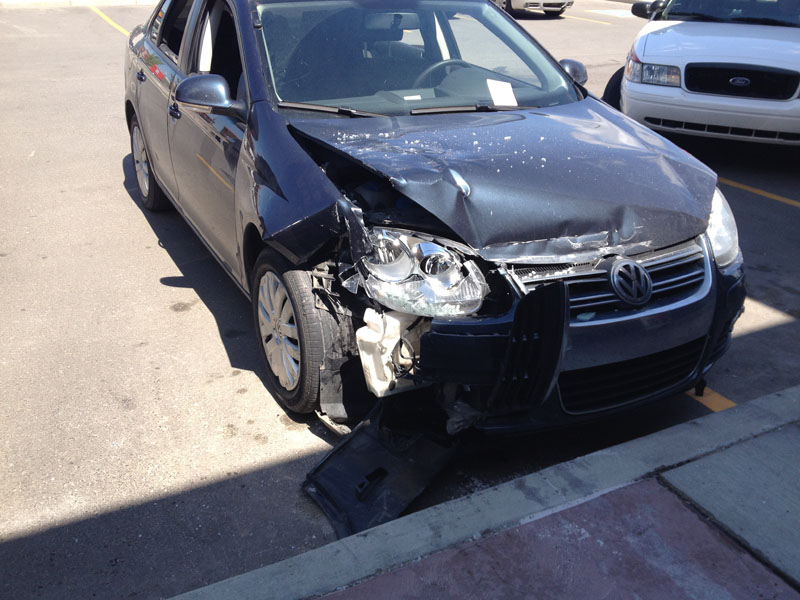Damage after accident