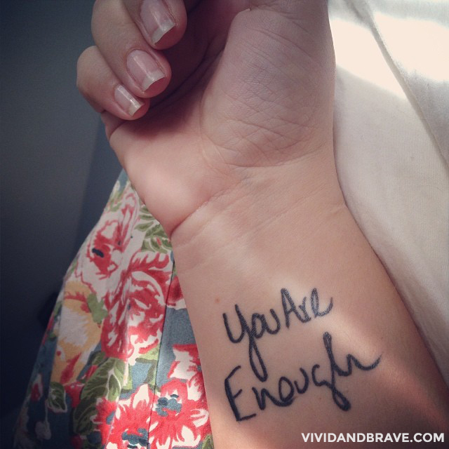 My Tattoo - You Are Enough