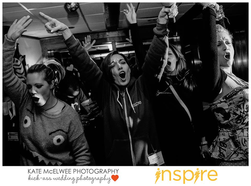 Karaoke & dancing at Inspire 2014