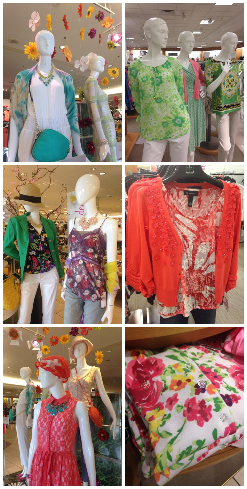 Floral Fashions at Macy's The Secret Garden Event