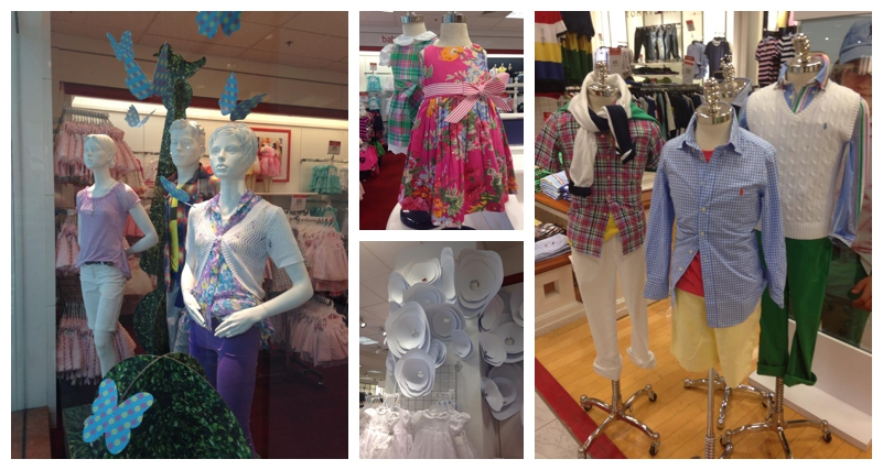 Children's fashions for spring at Macy's