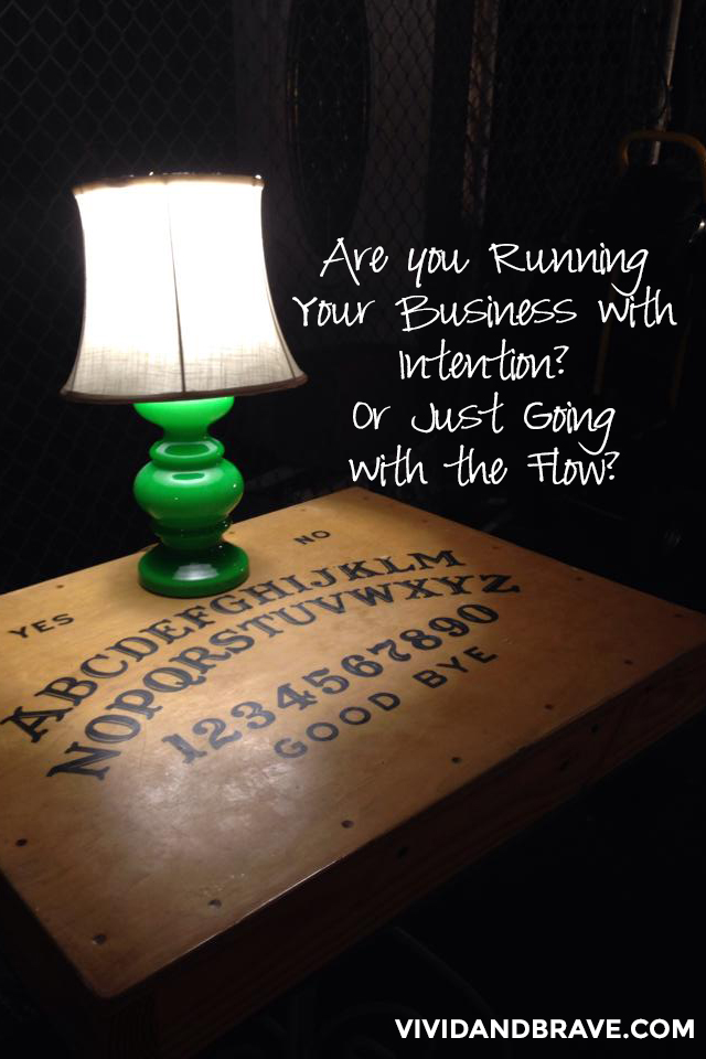 Are You Running Your Business With Intention? Or Are you Driving Aimlessly?