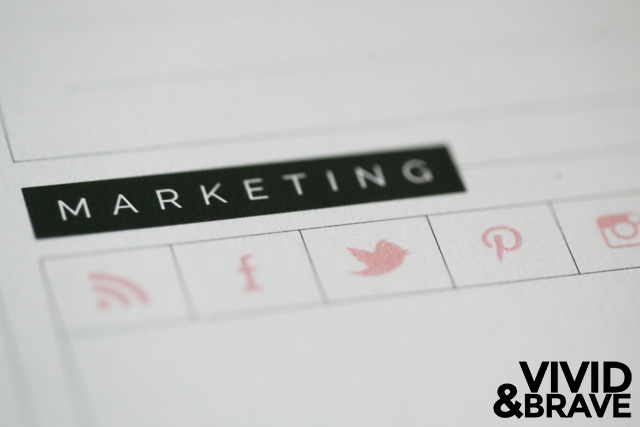 Marketing Checklist from the Daily Page in the Big Picture Planner by Design Aglow