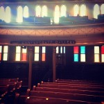 Ryman Auditorium - view from the stage - Nashville, Tennessee