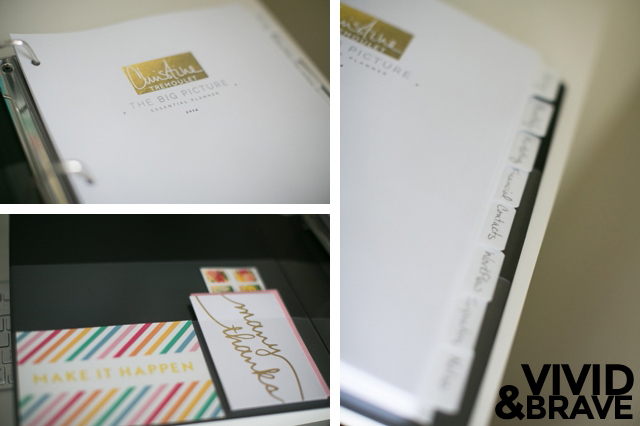 Big Picture Planner Review - The Details - Cover Page and Tabs