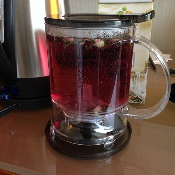 Sakura Allure Tea from Teavana #todaystea