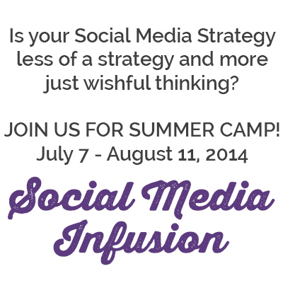 Whip Your Social Media Strategy in to Shape! Social Media Infusion