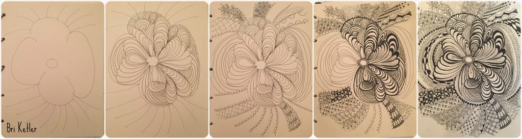 Creative Journal Zen by Bri Ketler