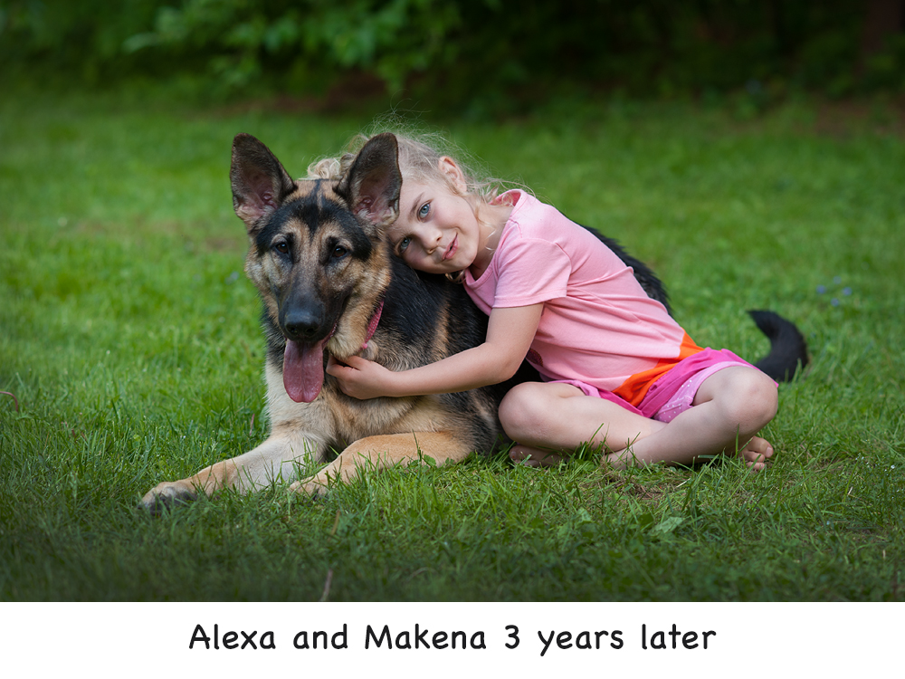 Alexa & Makena three years later